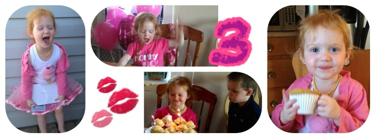 A Day of Joy and Grattitude <#  Happy Birthday our Sweet Little Girl