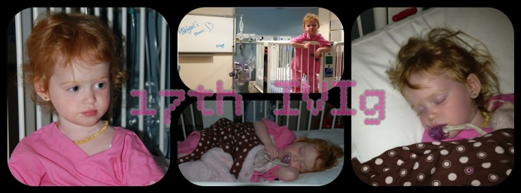 May 10th 2013 - Strength through her 17th IVIg infusion {one of her monthly treatments}