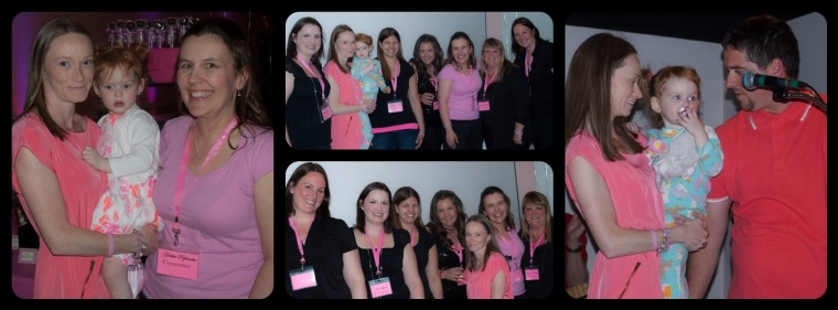 Myself, Abbigail & Debbie    All the Ladies who made this happen {missing a few}     Teary Speech